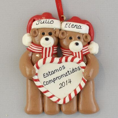 Engaged to be Married Personalized christmas Ornaments