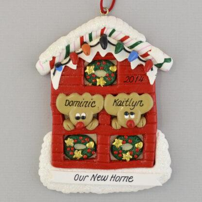 Our New Home Personalized christmas Ornaments