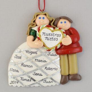 Our Grandchildren Personalized Christmas Ornaments