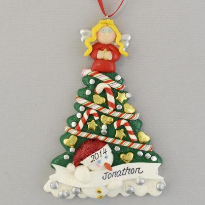 I Love My Grandma personalized Christmas Ornaments
