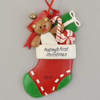A Baby's First Christmas personalized Ornaments