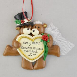 First Married Christmas Personalized Ornaments