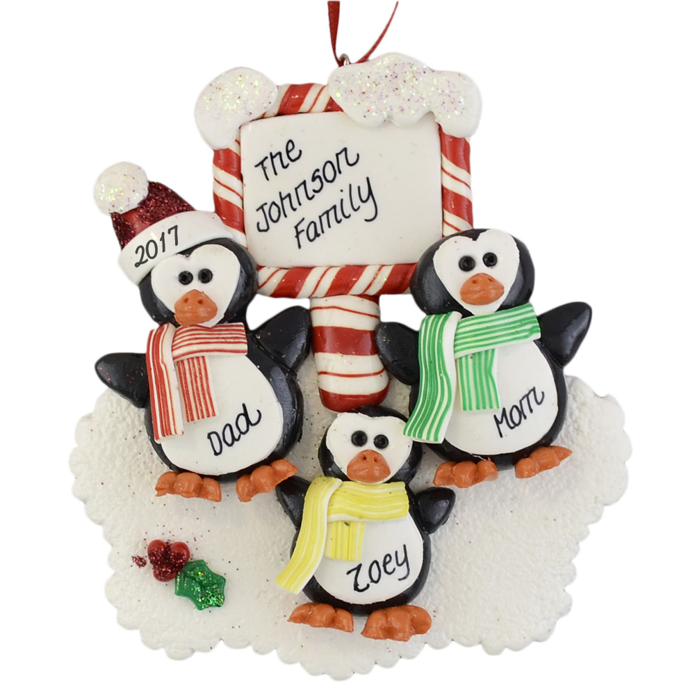 PERSONALISED SNOWMAN FAMILY CHILDREN PLAQUE CHRISTMAS XMAS DECORATION GIFT