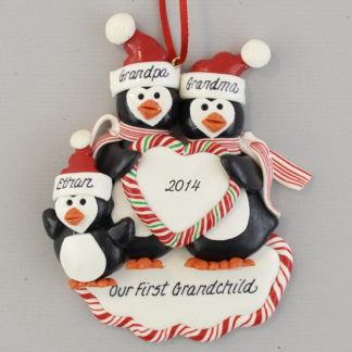 First Grandchild Personalized Ornament