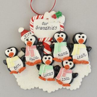 Our Four Grandchildren Personalized Christmas Ornaments