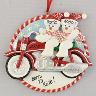 Motorcycle Personalized christmas Ornaments
