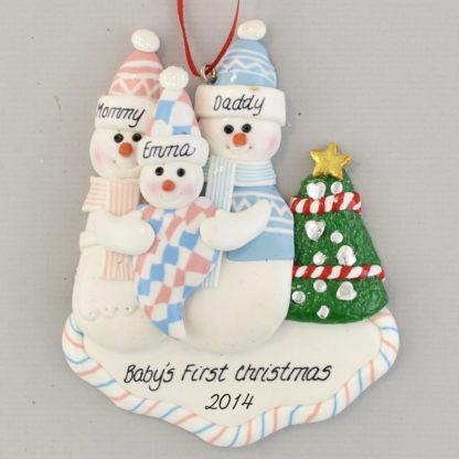 New Baby Personalized christmas Ornaments