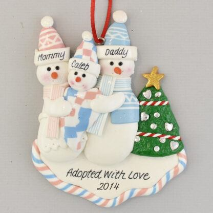 Our New Baby Personalized Christmas Ornament