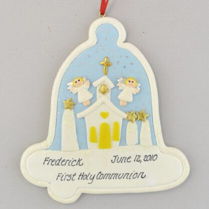 First Holy Communion Christmas Ornament