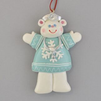 Bear Doctor personalized christmas ornaments