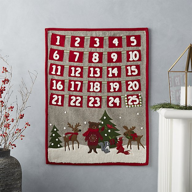 advent calendar to make with your child