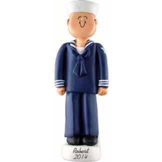 Armed Forces: Navy Personalized Christmas Ornament