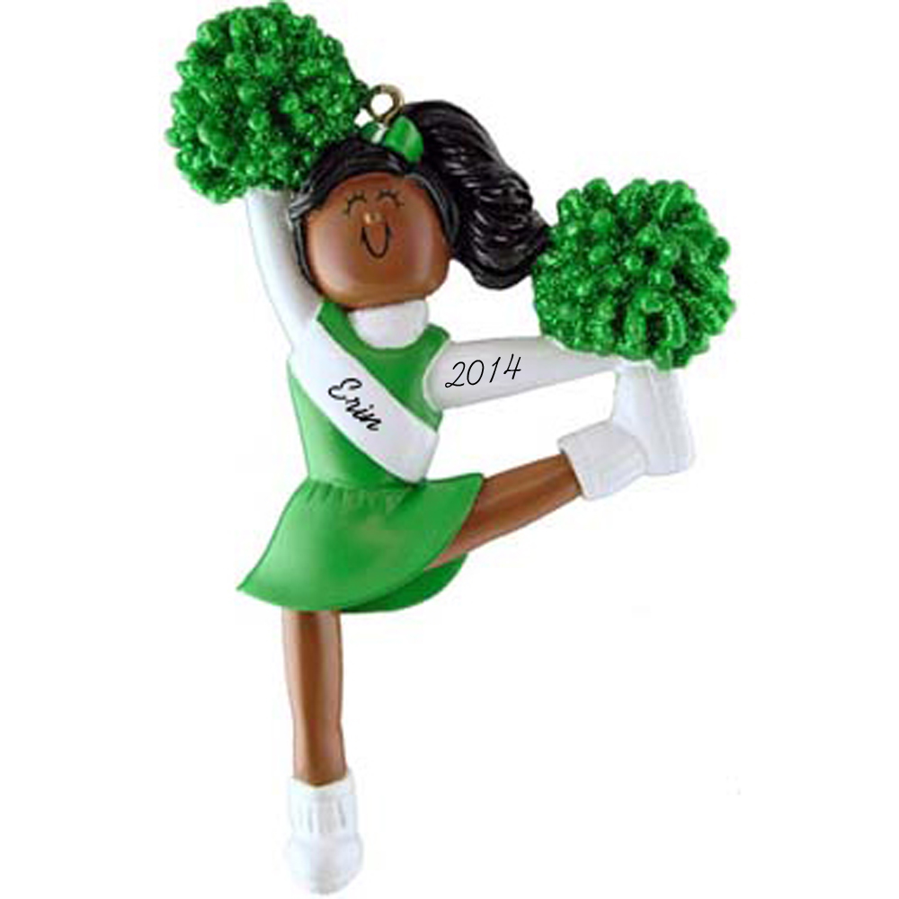 Personalized Christmas Ornament for Cheerleader Cheerleader Ornament Cheer Team Ornament Cheerleader christmas ornament