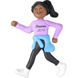 Walker, Female Personalized christmas Ornament