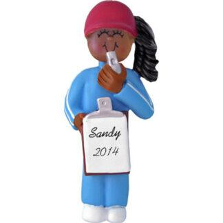 Coach: Female Personalized christmas Ornament